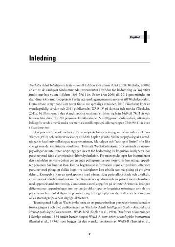 Ladda ned kapitel 1 som en pdf - Pearson Assessment