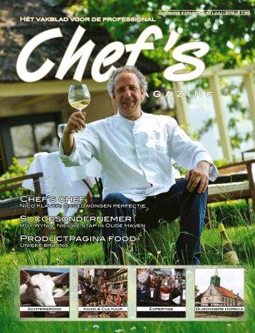 M A G A Z I N e Chef's chef Succesondernemer ... - Uitgeverij Vizier