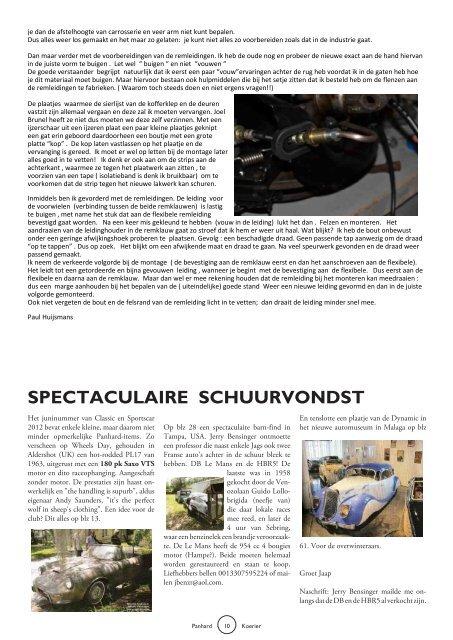 Lees Panhard koerier 172 online - Panhardclub Nederland