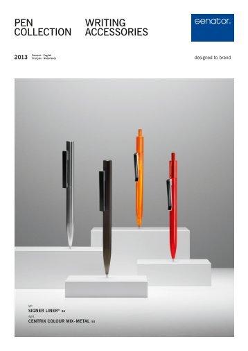 Catalogue Stylos et Accessoires - LuxVisual