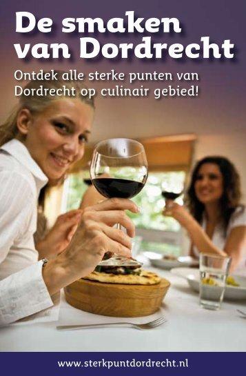 De smaken van Dordrecht - VVV Zuid-Holland Zuid