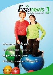 FysioNews 1/2007 - Fysioline