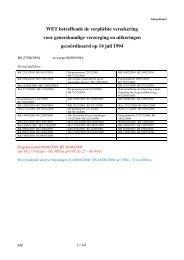 ZIV-wet van 14/07/1998 - Vlaams Artsensyndicaat