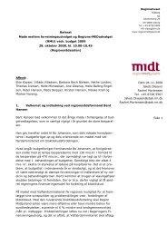 Til orientering vedlægges referat af mødet den 28. oktober 2008 ...