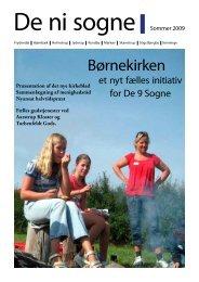 Juni - August 2009. - Skamstrup-Frydendal Pastorat