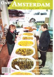 Ons Amsterdam maart 2001 - de Leeuw Zuurwaren