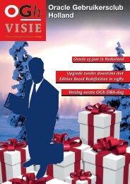 OGh Visie 2009/2010 Winter - Oracle Gebruikersclub Holland