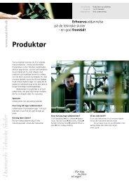 Produktør