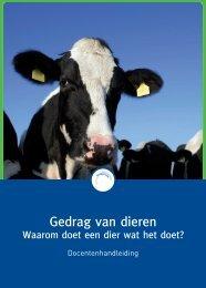 Biologie: Gedrag van dieren - Taalgericht Vakonderwijs