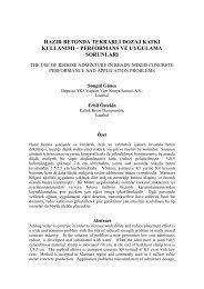 Hazır Betonda Tekrarlı Dozaj Katkı Kullanımı ... - Dogateknik.com.tr