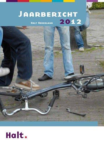 Jaarbericht 2012 - Halt