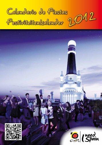 Calendario de Fiestas Festiviteitenkalender 201 - TravEcademy