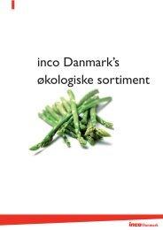 inco Danmark's økologiske sortiment