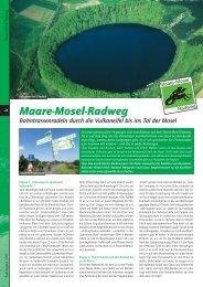 Maare-Mosel-Radweg - radwanderland.de