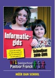 Informatie- gids - Pastoor Franck