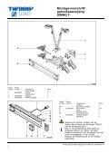 Montagevoorschrift/ gebruiksaanwijzing SWING F - voor de fiets - Page 2