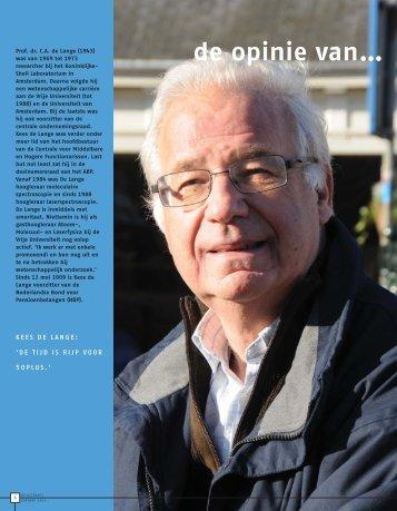 interview - Nederlandse Bond voor Pensioenbelangen
