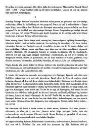Omar bin Benjamin Nidsång - Torped del 1 - Stockholms Stadsmission