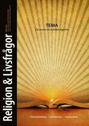 Nr. 3 - Föreningen Lärare i Religionskunskap