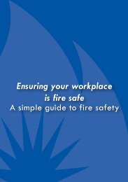 Ensuring your workplace is fire safe - Fire and Emergency Services ...