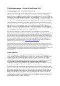 Utbildningsgruppens inriktning 2009 - GR Utbildning - Page 2