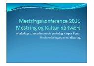 Modoverføring og mentalisering - Kasper Pyndt - Region Midtjylland