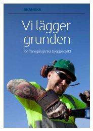 för framgångsrika byggprojekt - Skanska