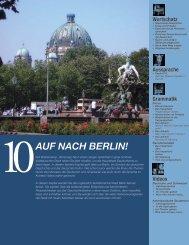 Zuwanderer und Einwohner Berlins nach Staatsangehörigkeit