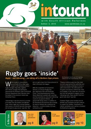 Intouch Edition 3, 2010 - SA Rugby Referees