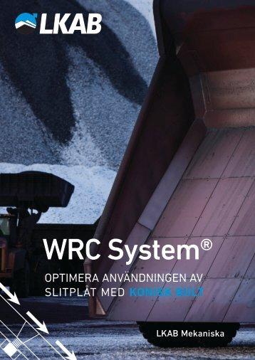 WRC System produktbroschyr (svenska).pdf - LKAB Mekaniska