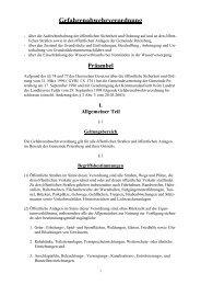 Gefahrenabwehrverordnung - Petersberg