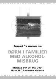 BØRN I FAMILIER MED ALKOHOL- MISBRUG