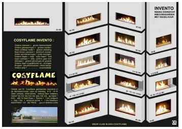 Cosyflame Afmetingen brochure - VAN RAEMDONCK