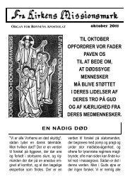 til oktober opfordrer vor fader paven os til at bede om, at dødssyge ...