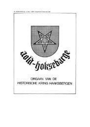 November - Historische Kring Haaksbergen