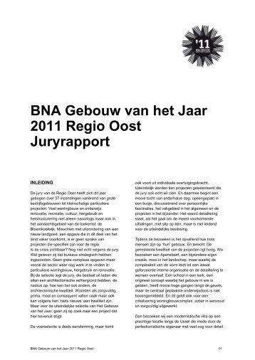 Juryrapport GvhJ2011_regio Oost.PDF - Gebouw van het Jaar