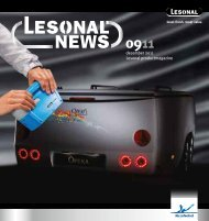 1 december 2011 Lesonal productmagazine