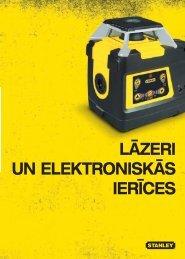 Lāzeri un eLektroniskās ierīces - Stanley