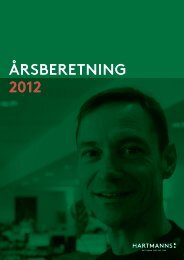 årsrraport 2012 - Om Hartmanns