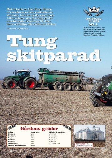 Gårdens grödor - Bengt Nilssons Maskinstation AB