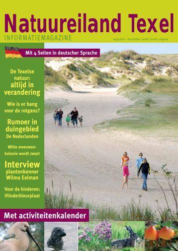 Zomer 2008 - Nationaal Park Duinen van Texel