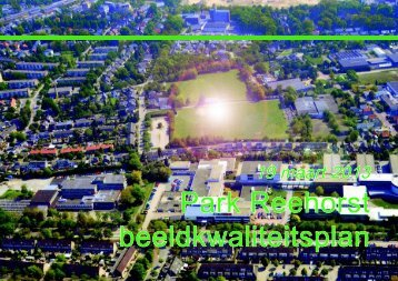 Park Reehorst beeldkwaliteitsplan - Gemeente Ede
