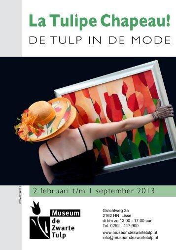 La Tulipe Chapeau! - Kees van de Wetering