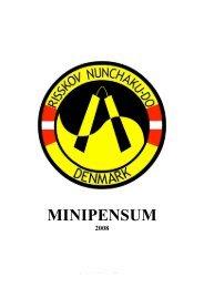 Pensum - Ballerup Taekwondo Klub