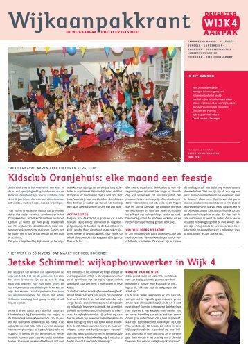 Kidsclub Oranjehuis: elke maand een feestje Jetske Schimmel ...