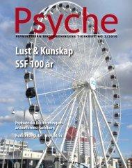 Tidningen Psyche No. 2 – 2010 - Psykiatriska Riksföreningen