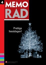 MemoRad 2012-4 - Nederlandse Vereniging voor Radiologie