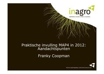 Praktische invulling MAP4 in 2012: Aandachtspunten ... - Inagro