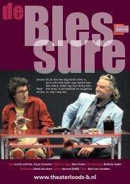 Download hier de flyer van De Blessure - Theaterloods-B