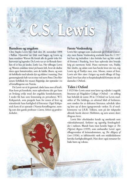 Læs mere om Narnia-serien og om C.S. Lewis